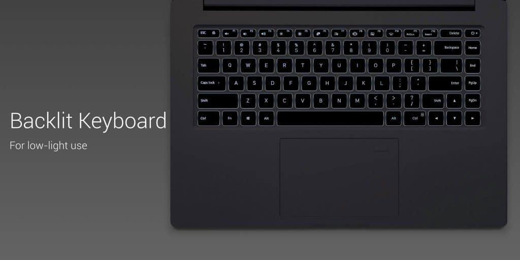 Mi Notebook Pro teclado