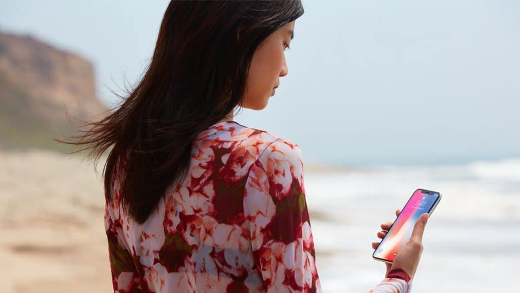 iphonex praia Echoboomer