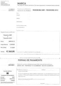 Carta fraudulenta