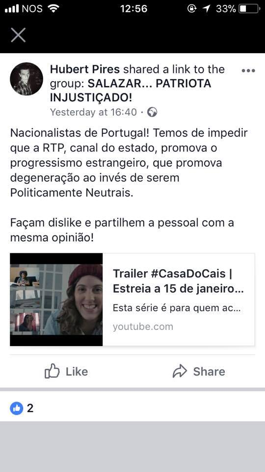 #CasaDoCais