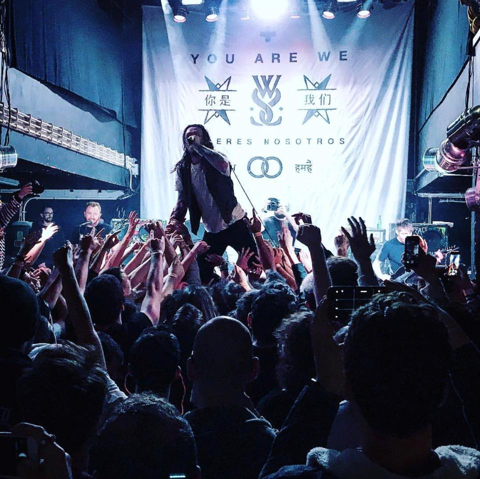 While She Sleeps no RCA Club