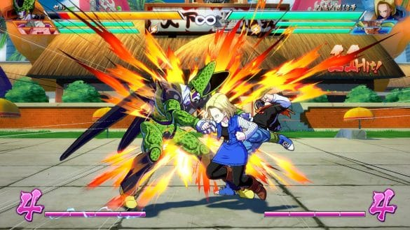 Dragon Ball FighterZ - Cell e Android 18