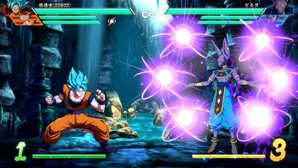 Dragon Ball FighterZ - Goku e Beerus
