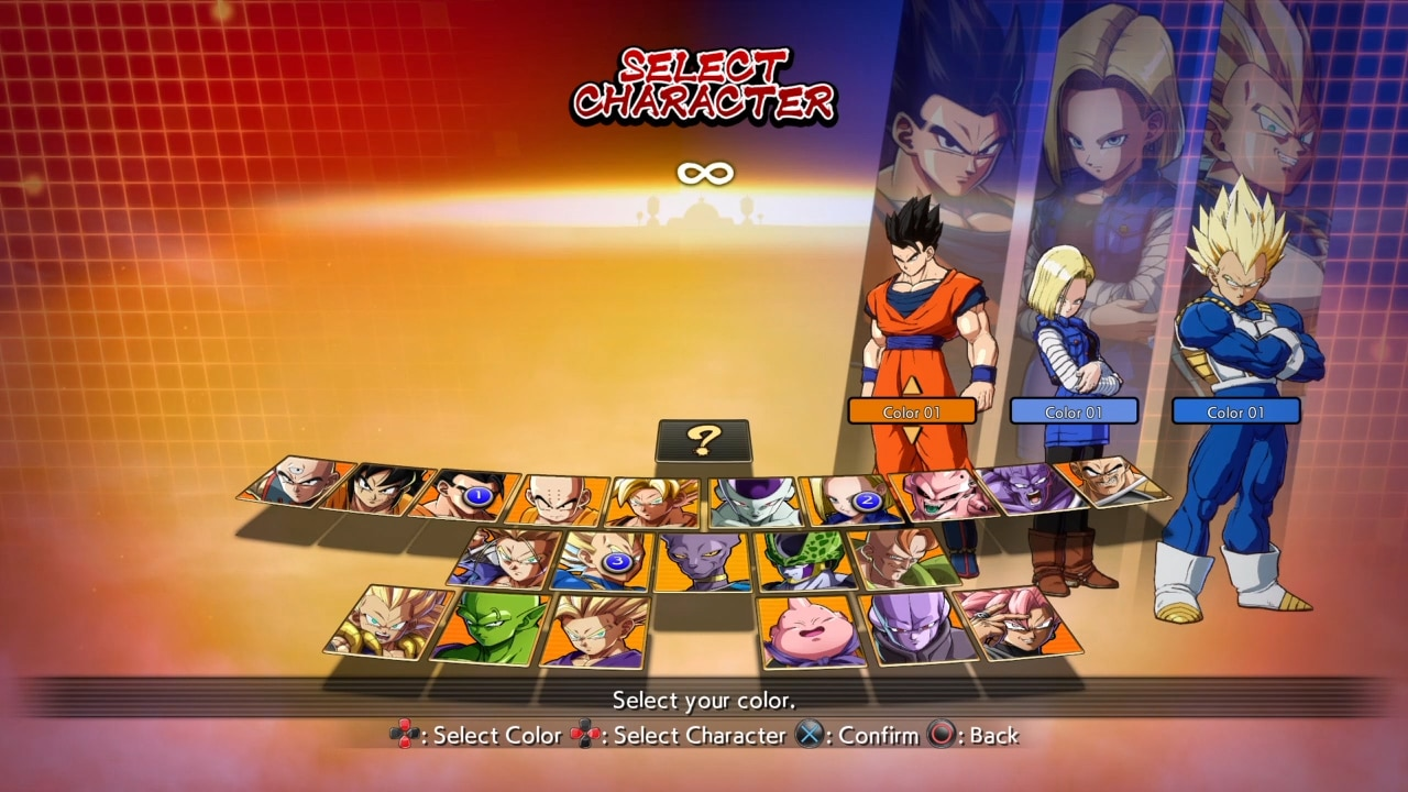 Dragon Ball FighterZ - personagens