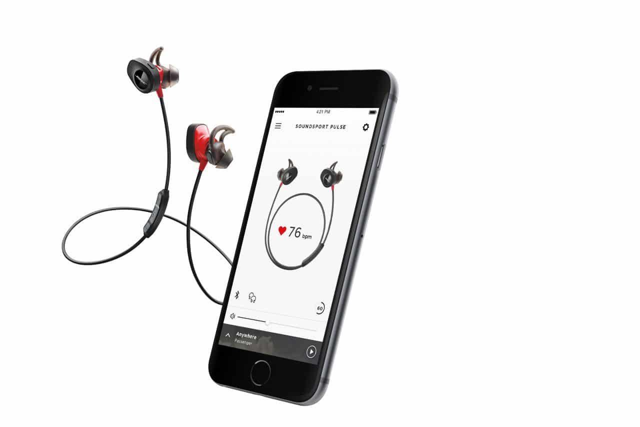 Auriculares desportivos sem fios Bose SoundSport Pulse
