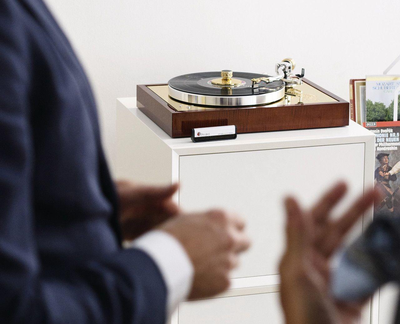 Gira-discos 175 da Pro-Ject Audio Systems