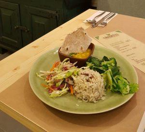 Um dos pratos