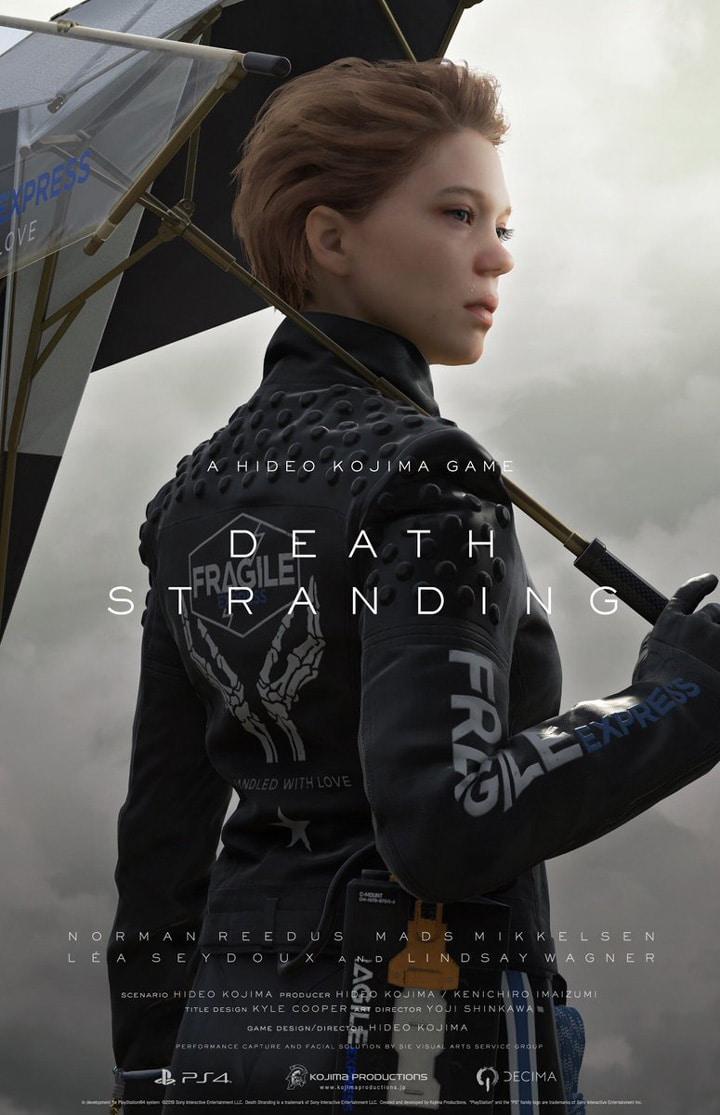 Death Stranding - Léa Seydoux