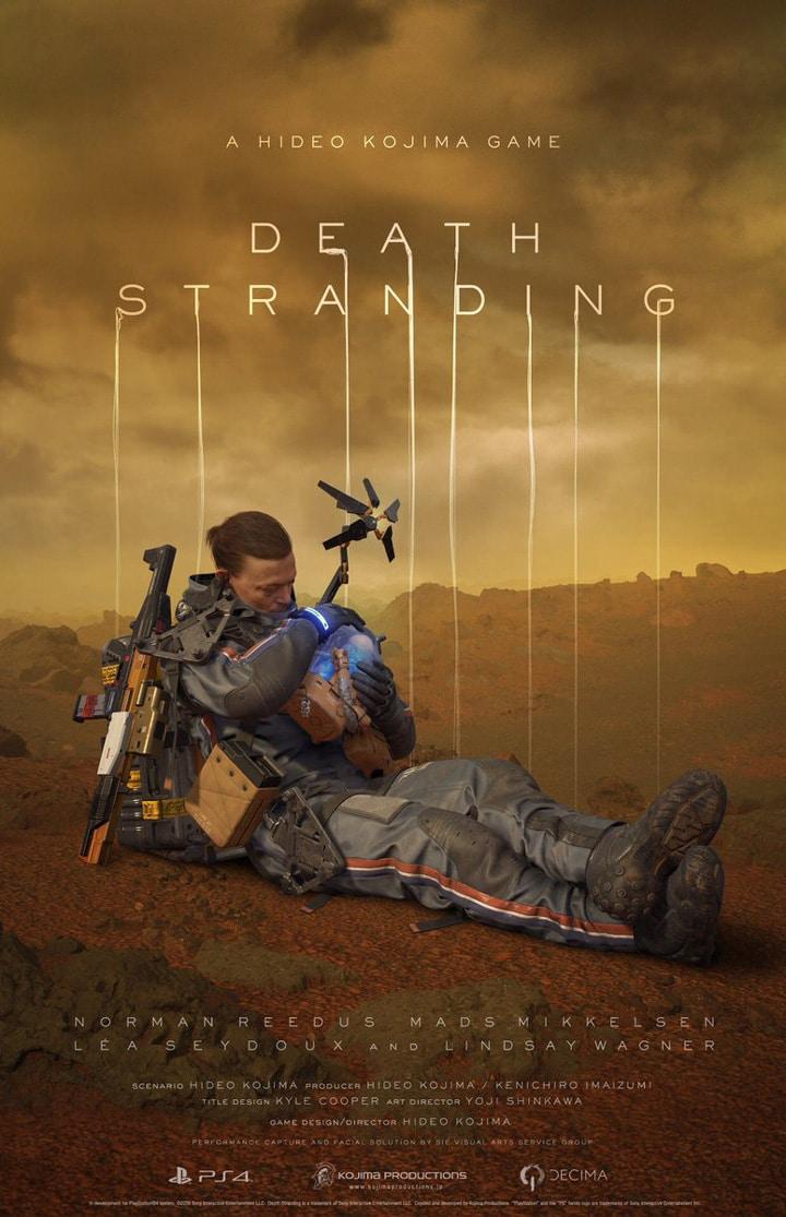 Death Stranding - Norman Reedus