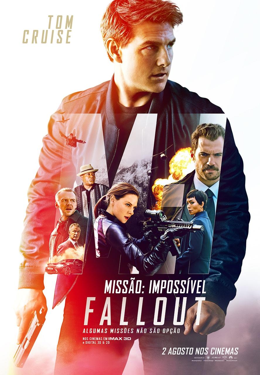 Missao Impossivel Fallout poster