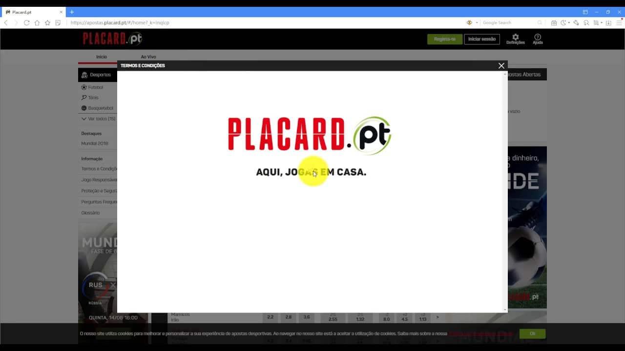 Placard.pt apostas online