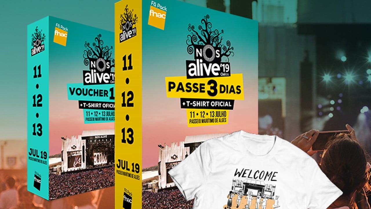 Fã Pack FNAC NOS Alive