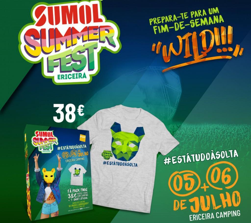 Fã Pack Fnac Sumol Summer Fest