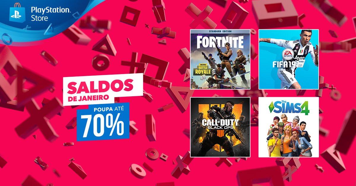 Descontos PlayStation Store