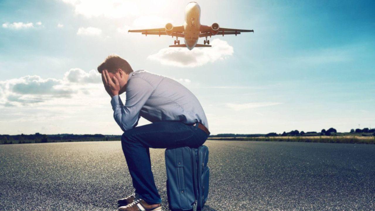 medo de andar de avião