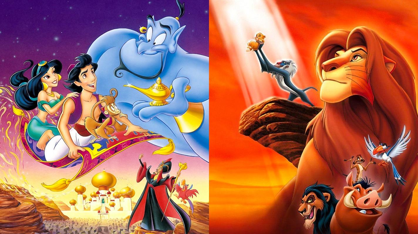 Aladdin e The Lion King