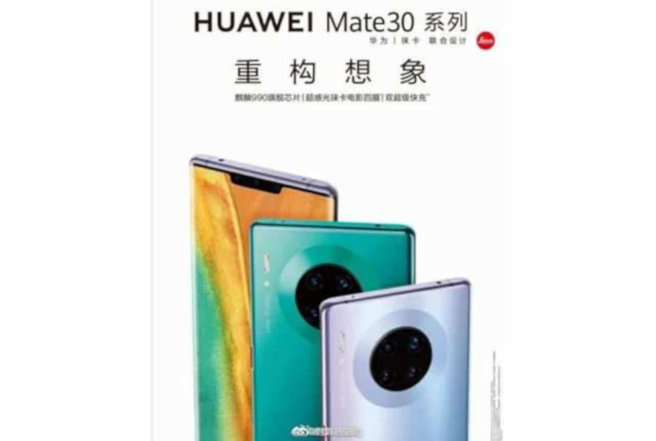 poster huawei mate 30 pro