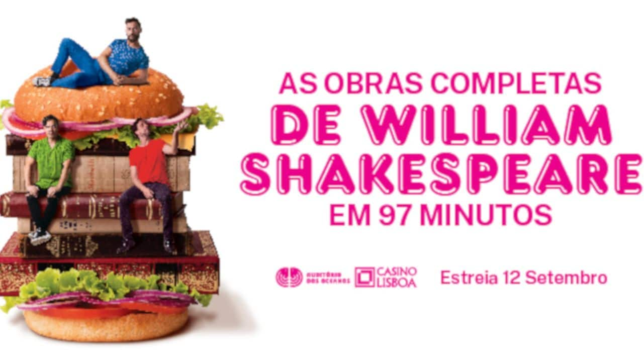 As Obras Completas de William Shakespeare em 97 Minutos