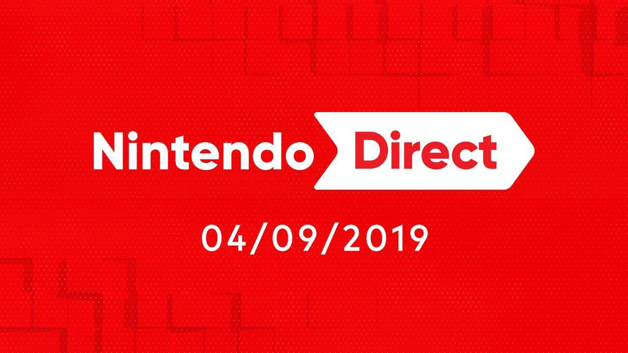 Nintendo Direct 4 setembro