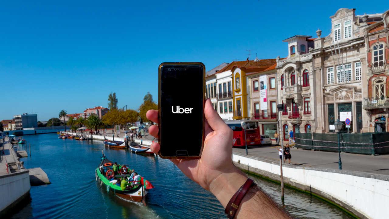 Uber chegou a Aveiro