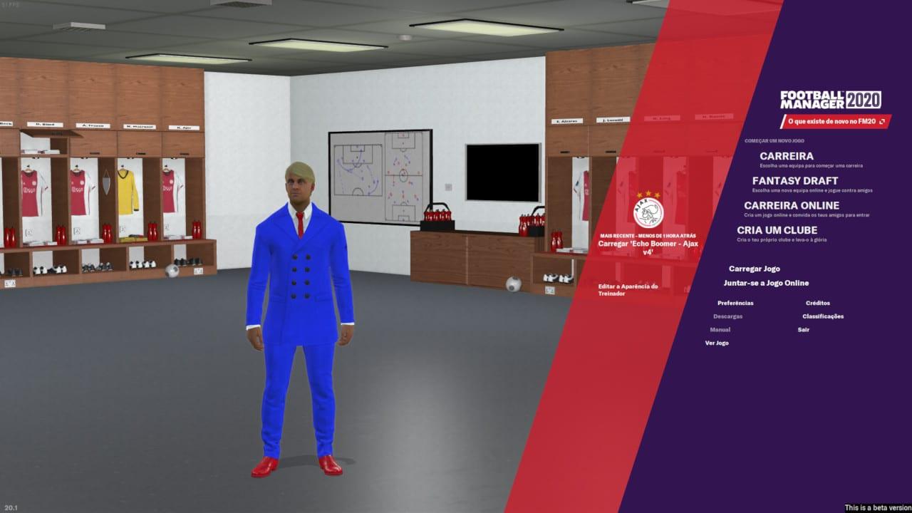 Football Manager 2020 - Treinador