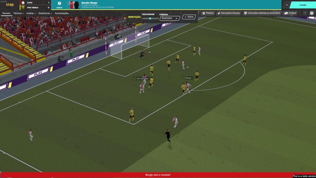 Football Manager 2020 - Motor de jogo