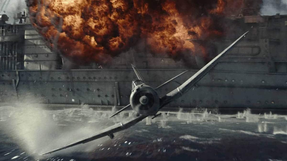 Efeitos especiais em Midway