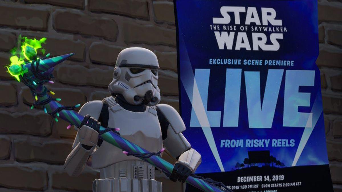Fortnite The Rise of Skywalker