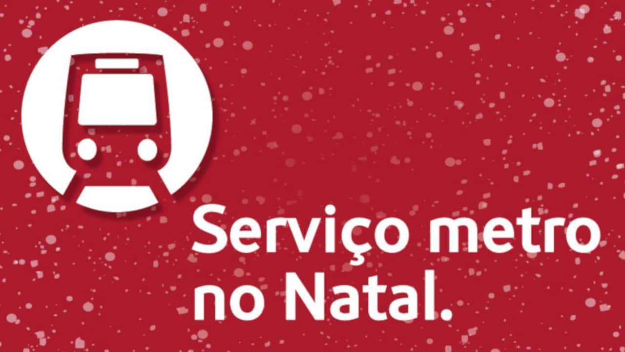 Metro Dia de Natal