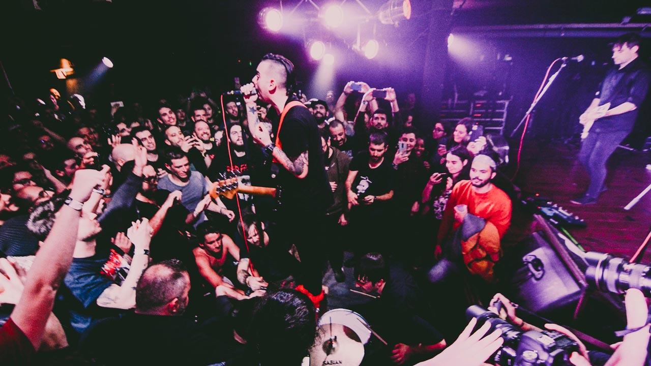 Anti-Flag no RCA Club