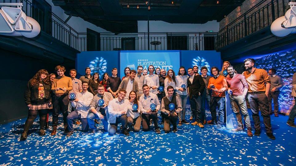 Vencedores Prémios PlayStation Talents 2019