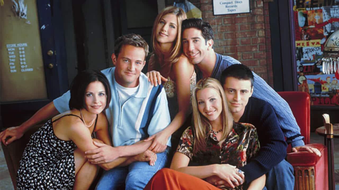 série Friends reunião