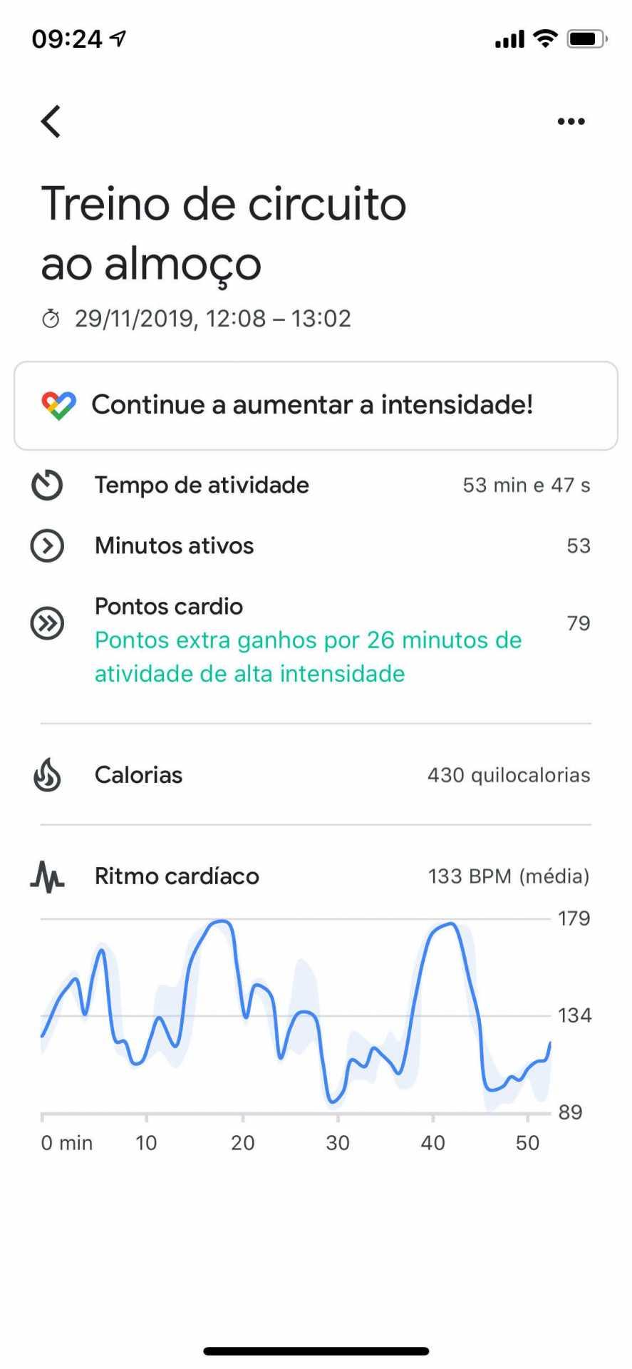 GoogleFitApp CircuitTraining