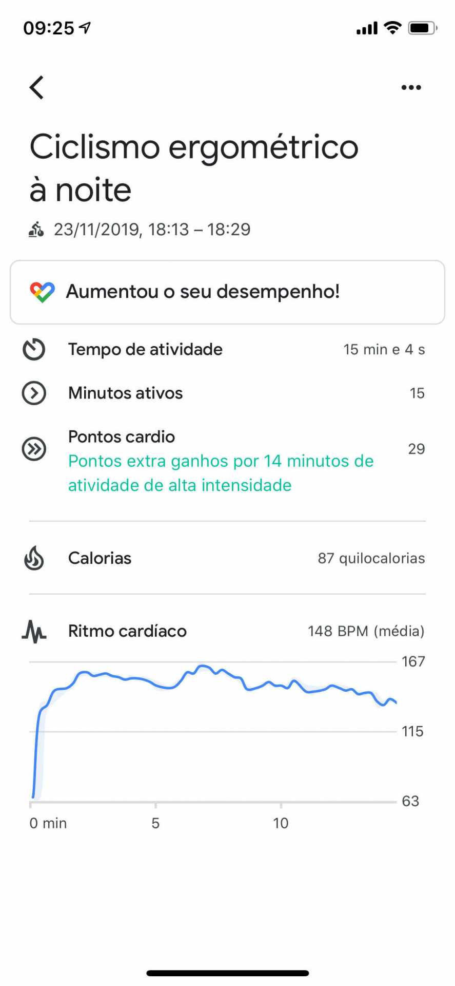 GoogleFitApp Cycling