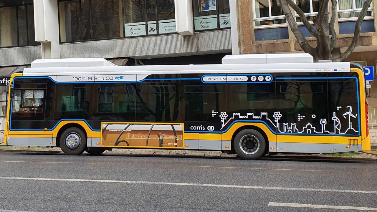 autocarros elétricos