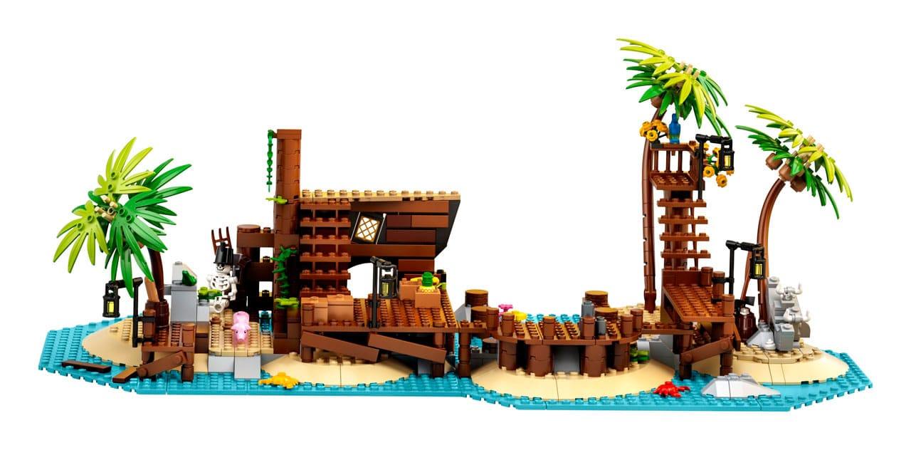 lego ideas os piratas da baía da barracuda 2