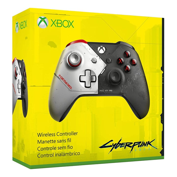 Cyberpunk 2077 Xbox One Limited Edition Controller