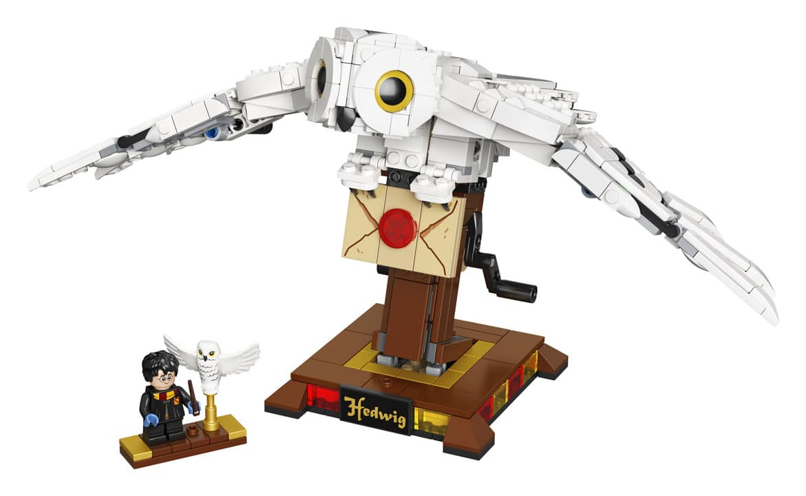 lego harry potter hedwig colect