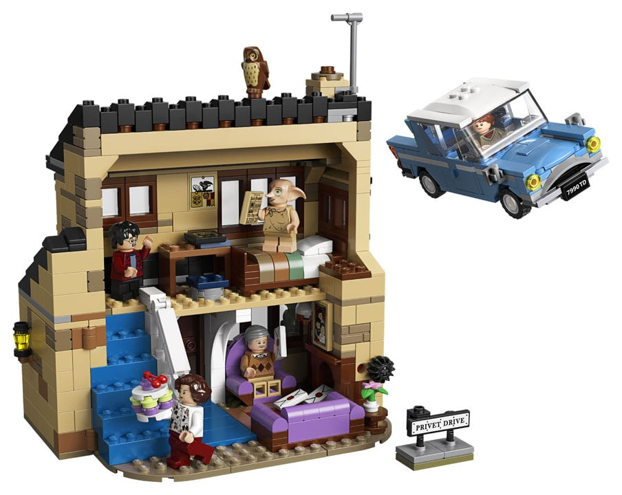 lego harry potter privet drive