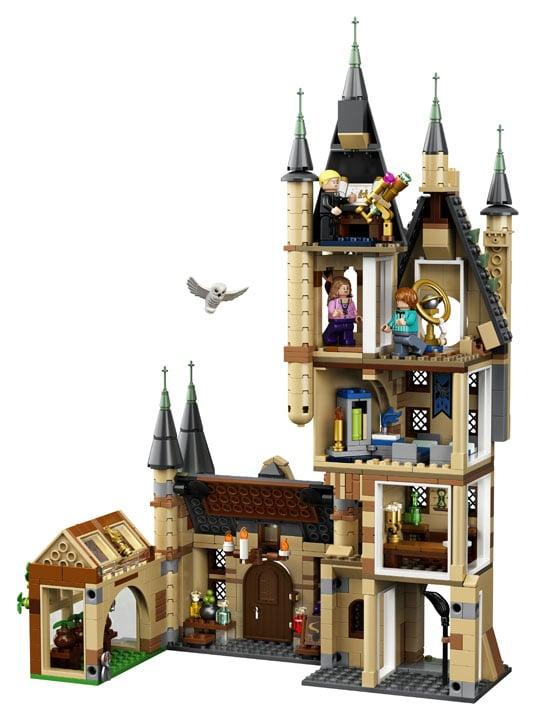 lego harry potter torre de astronomia