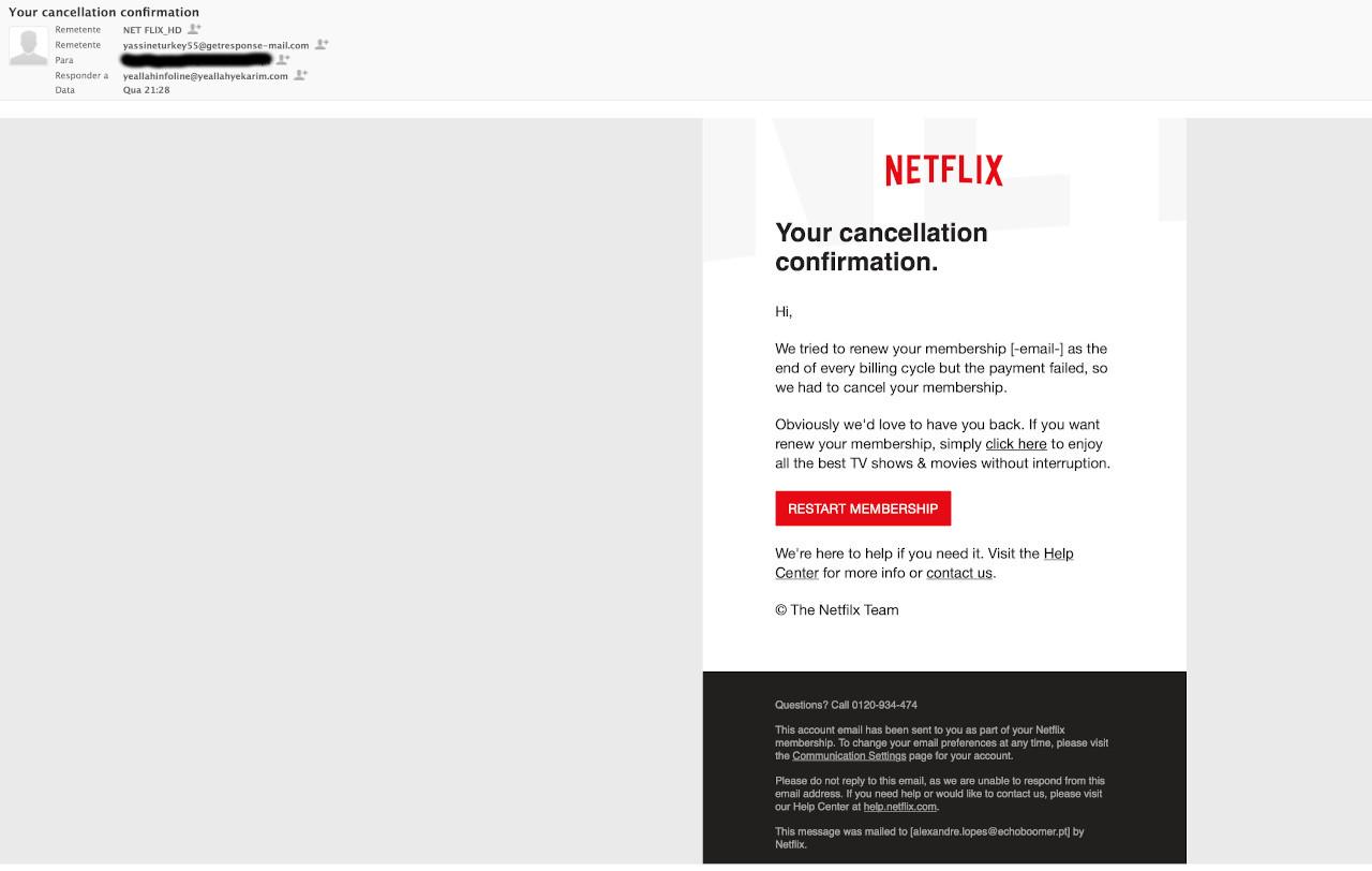 pela Netflix