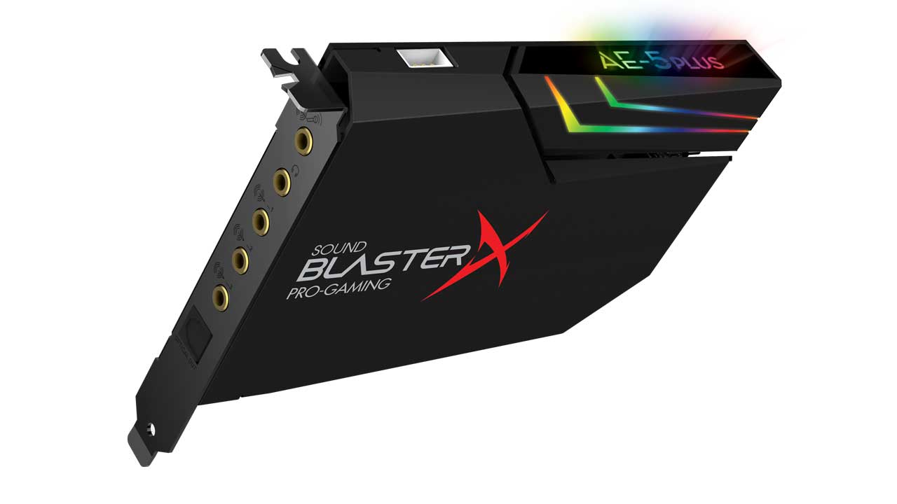 Sound Blaster AE-5 Plus