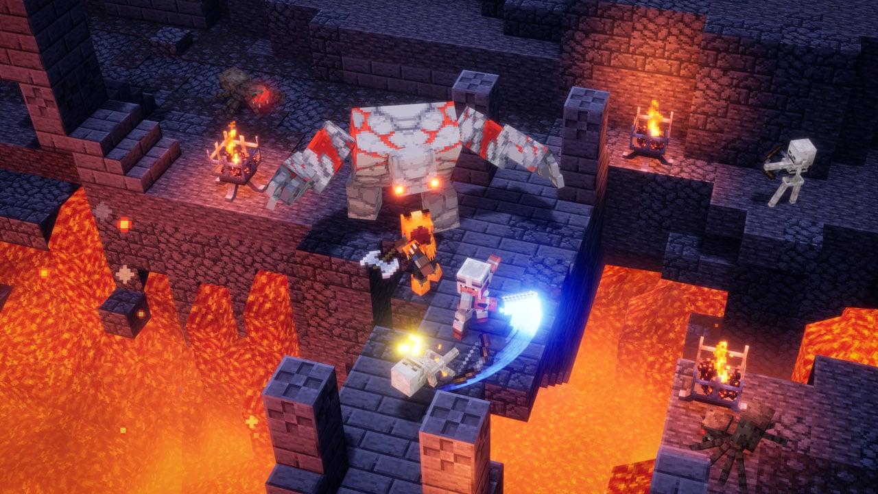 minecraft dungeons review echo boomer 2