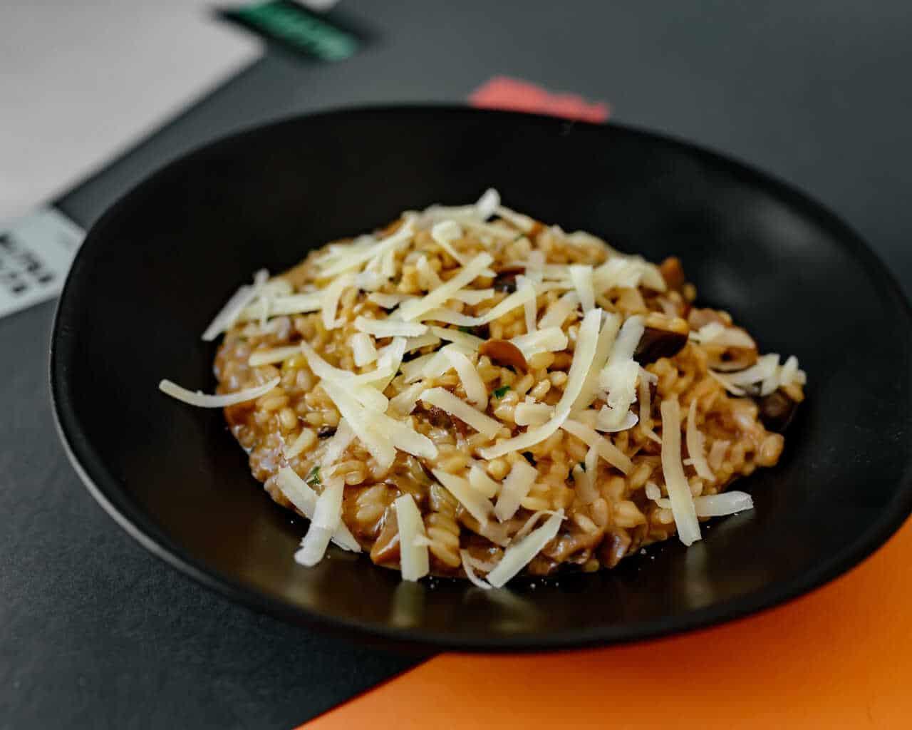 altravolta risotti de cogumelos trufados