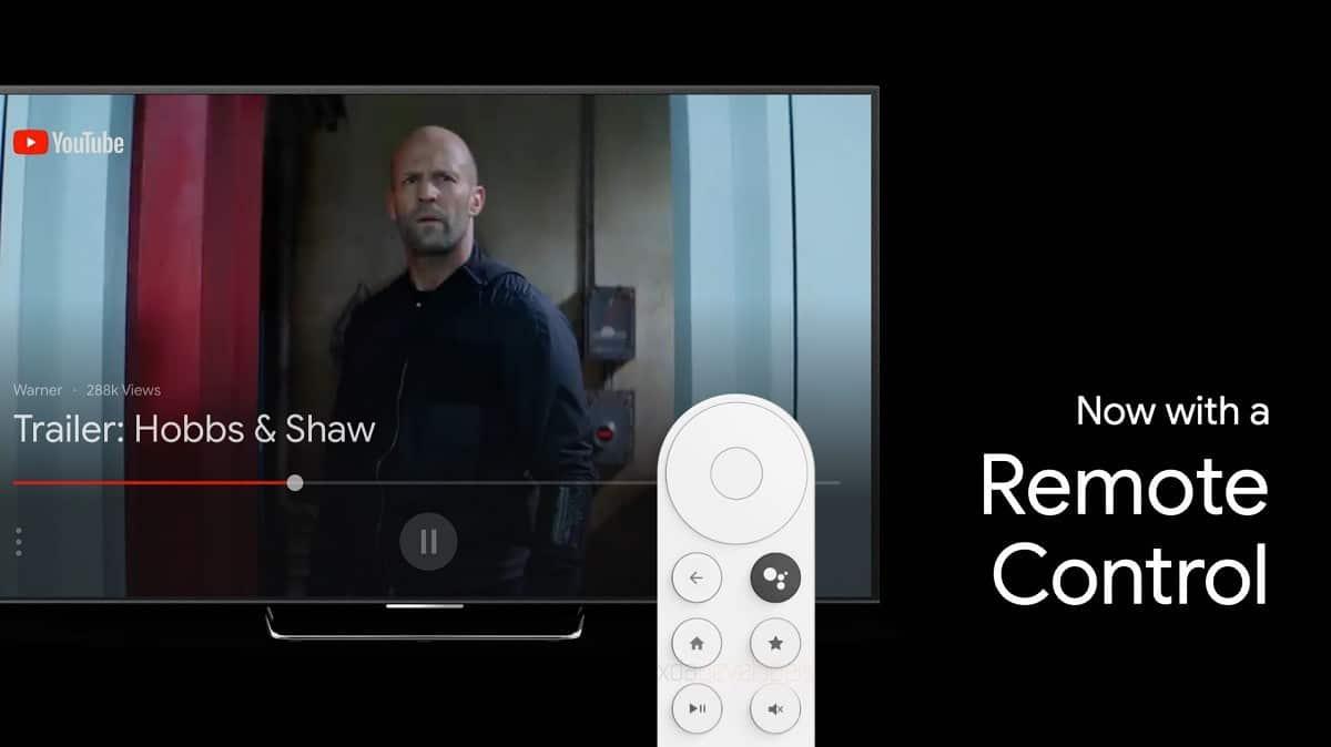 android tv comando