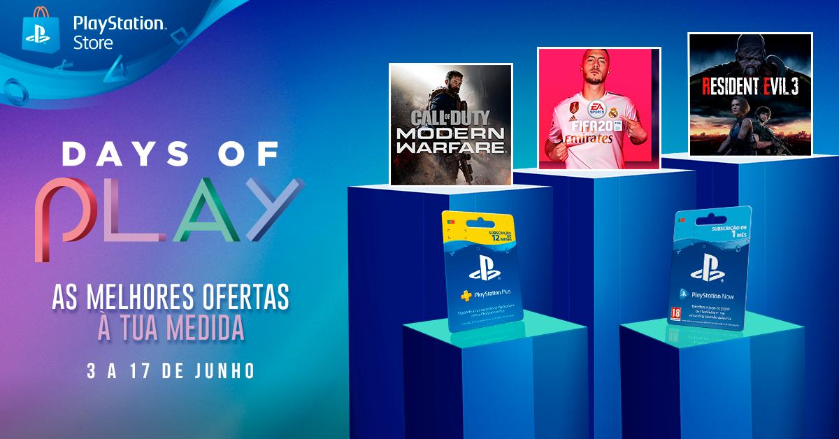 days of play 2020 psstore