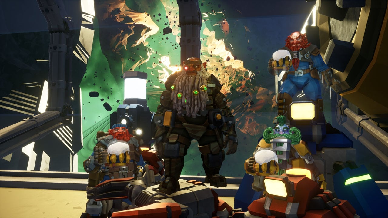 deep rock galactic review echo boomer
