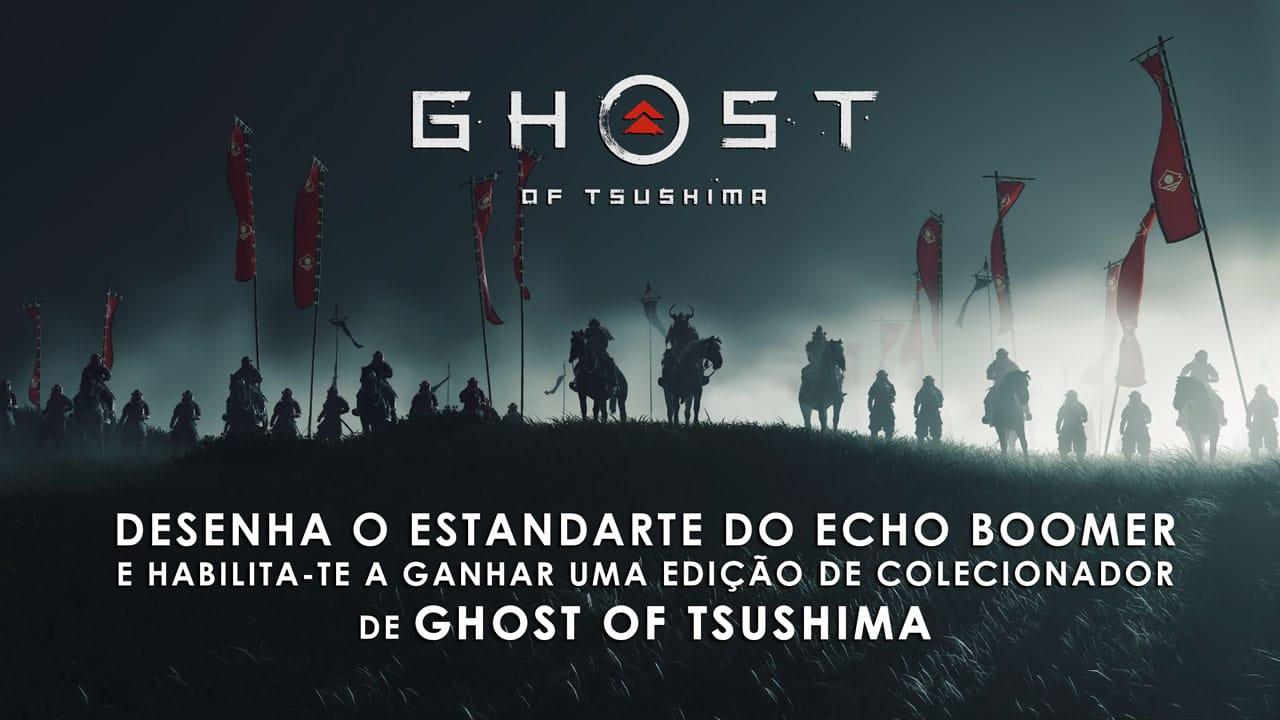 Ghost of Tsushima Estandarte Echo Boomer