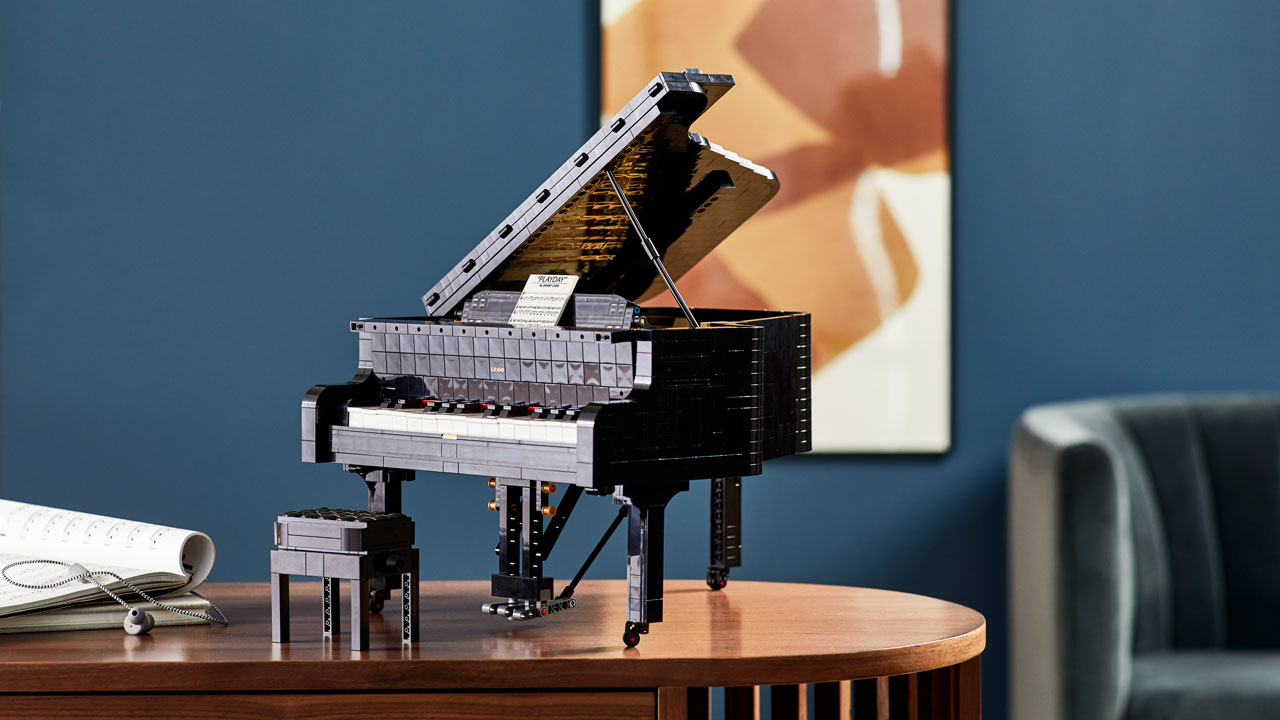 LEGO Ideas Piano de Cauda
