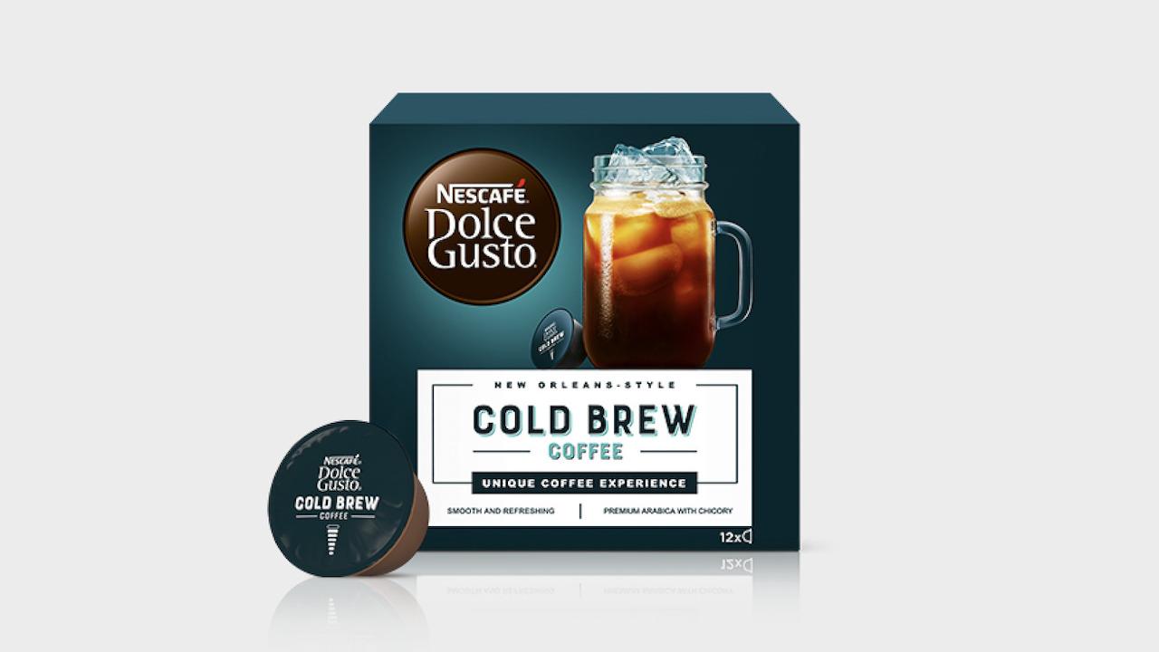 infusão a frio - Nescafé Dolce Gusto Cold Brew